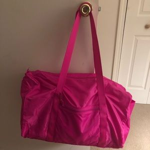 Price is flexible! NWT Packable Duffel.